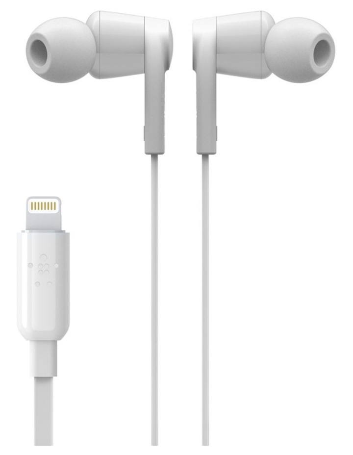 Rockstar Headphones with Lightning Connector - White image 5