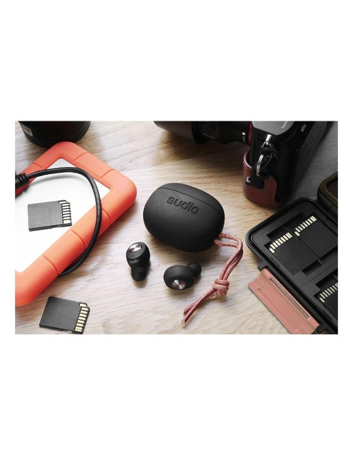 TOLV Wireless Earphones Black image 7