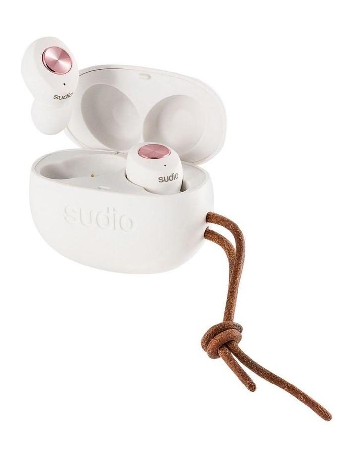 TOLV Wireless Earphones White image 2