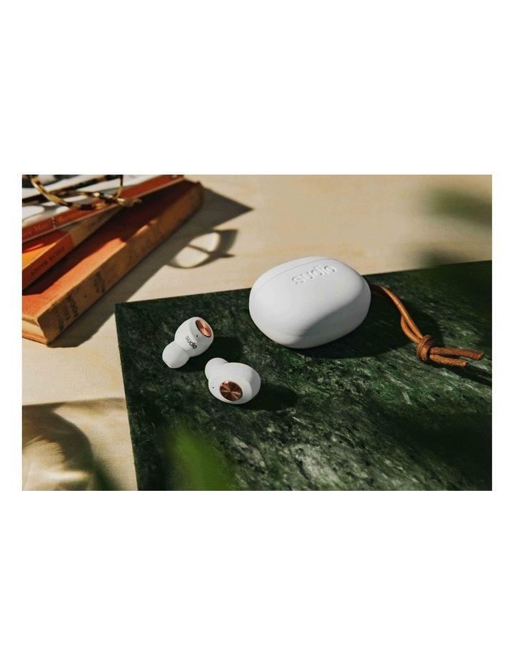 TOLV Wireless Earphones White image 6