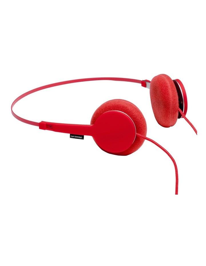 Tanto Wired On-Head Headphones - Tomato image 1