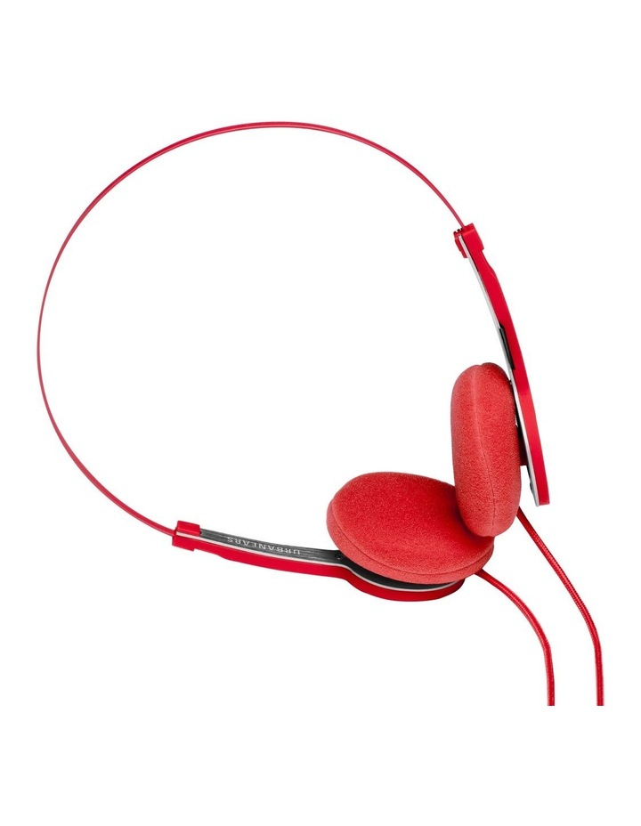Tanto Wired On-Head Headphones - Tomato image 2