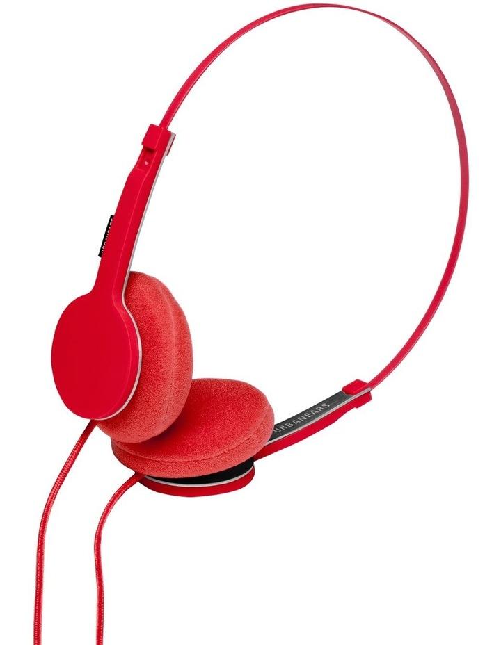 Tanto Wired On-Head Headphones - Tomato image 4
