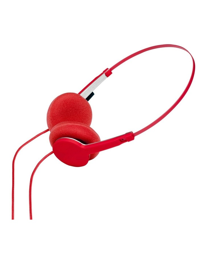 Tanto Wired On-Head Headphones - Tomato image 5