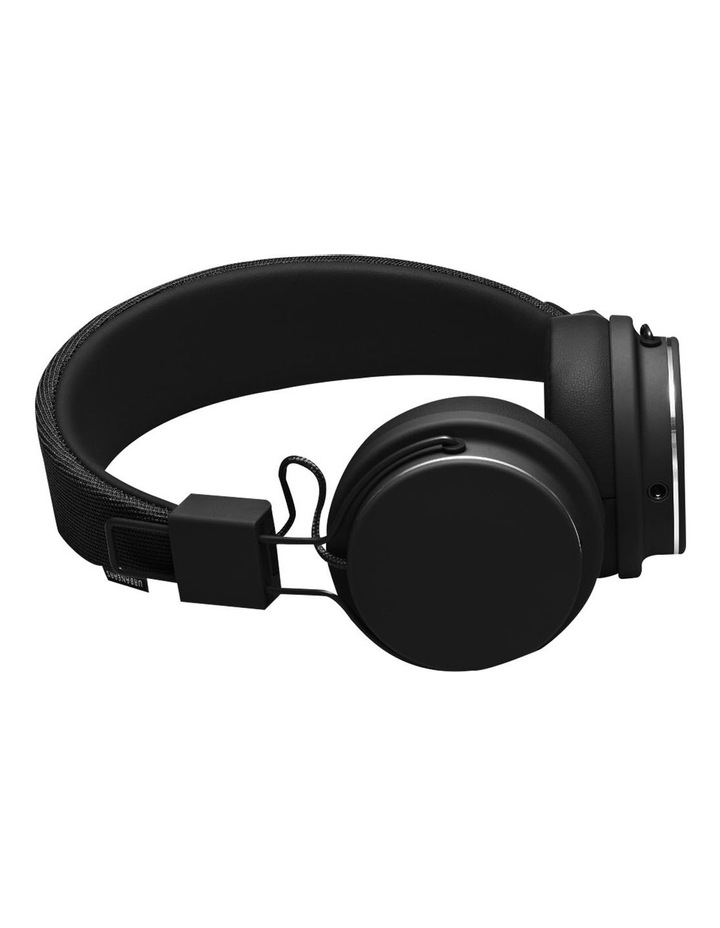 Plattan II Wired Over-Head Headphones with built in microphone for calls - Black image 1