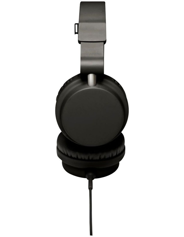 Zinken Wired On-Ear Headphones - Black image 3