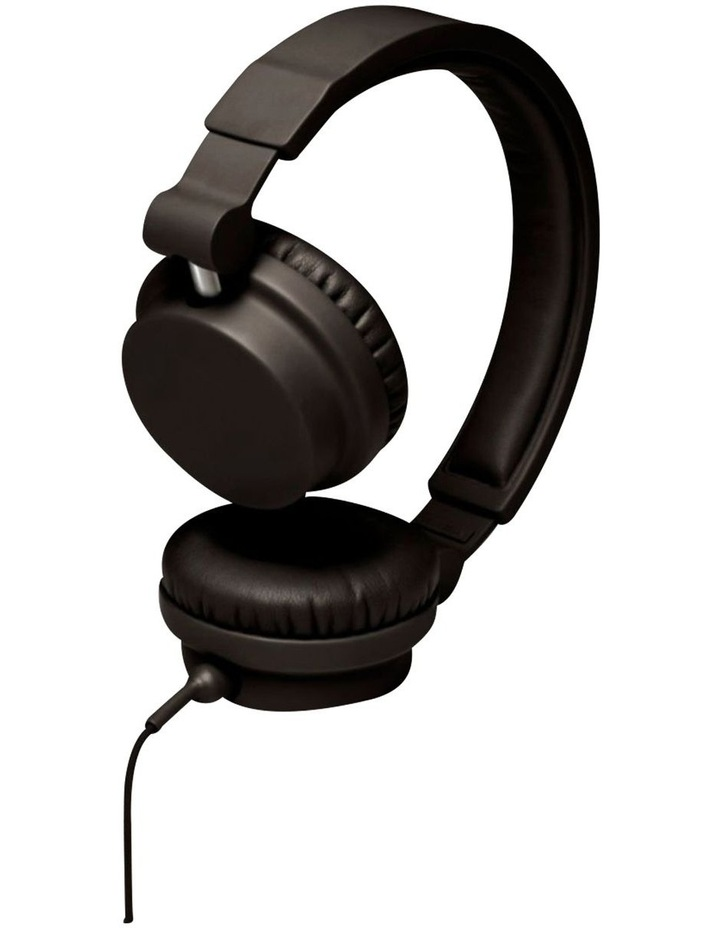 Zinken Wired On-Ear Headphones - Black image 4