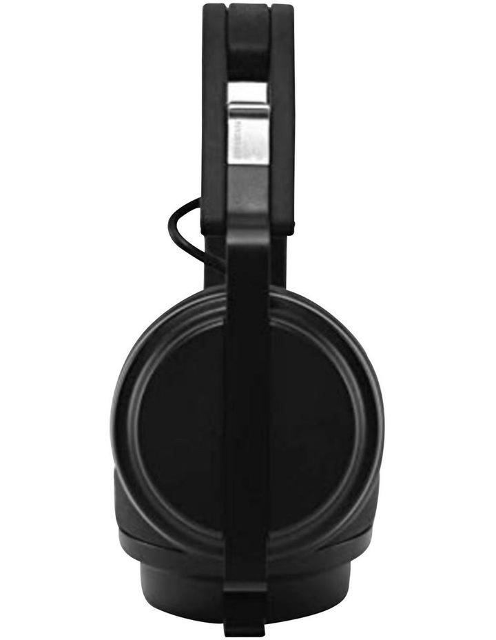 Krutis Black Wired On-Ear DJ Headphones image 2