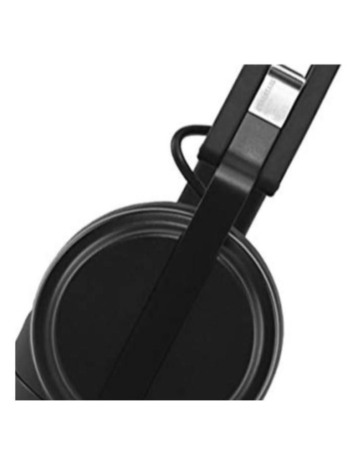 Krutis Black Wired On-Ear DJ Headphones image 4