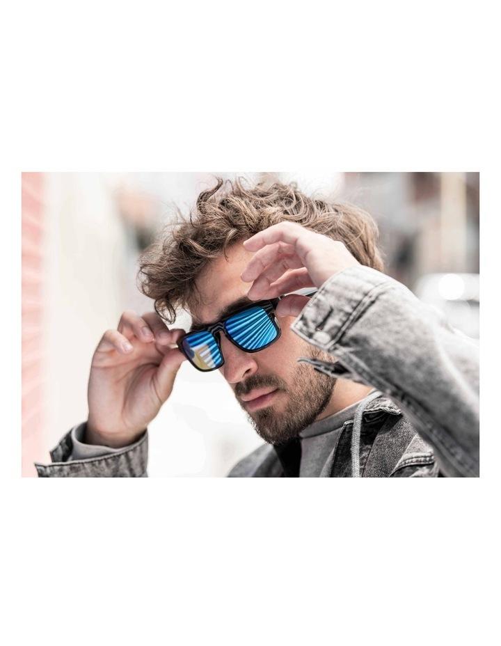 Mirrored Blue Tenor Style Lenses image 7