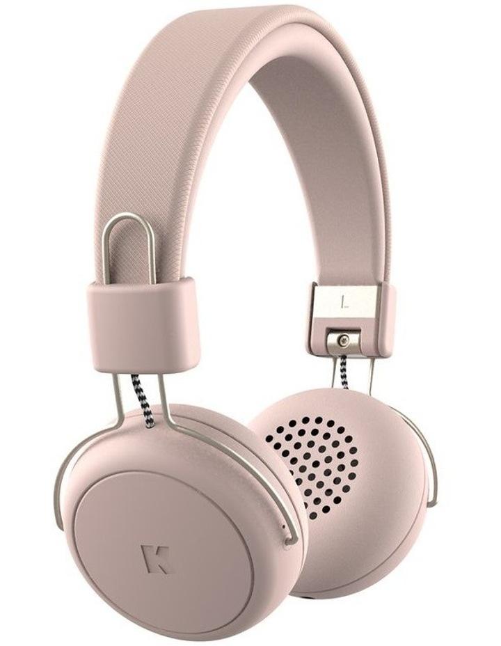 aWear Dusty Pink Bluetooth Headphones image 2