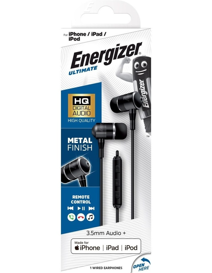 Black USB-C Wired In-ear Headphones UIC30BK image 4