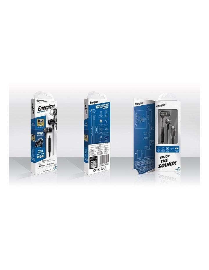 Black USB-C Wired In-ear Headphones UIC30BK image 6