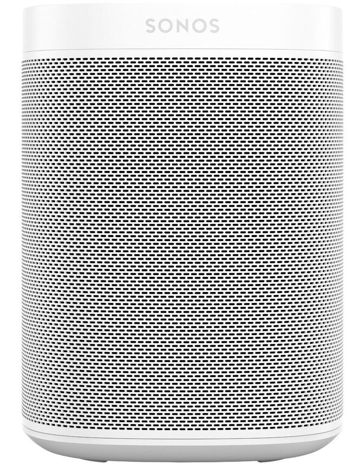 ONE Voice Controlled Smart Speaker - White image 1