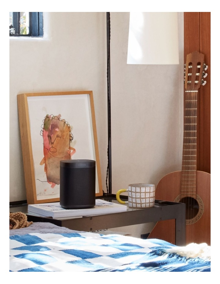 ONE Voice Controlled Smart Speaker - Black image 7