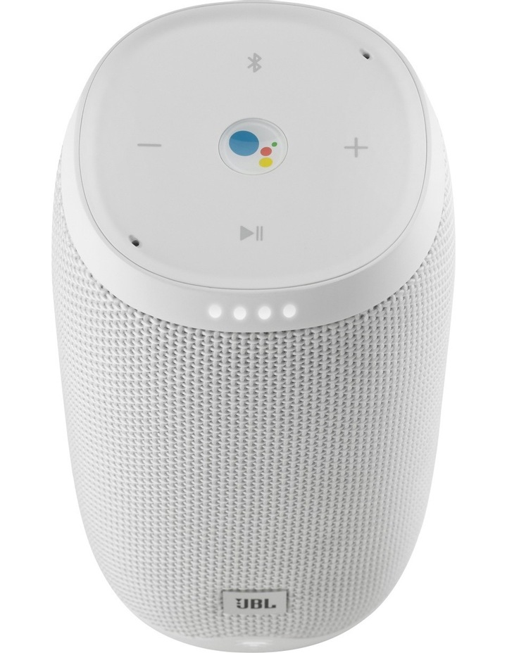 Link 10 Google Voice Activated Portable Speaker - White image 3