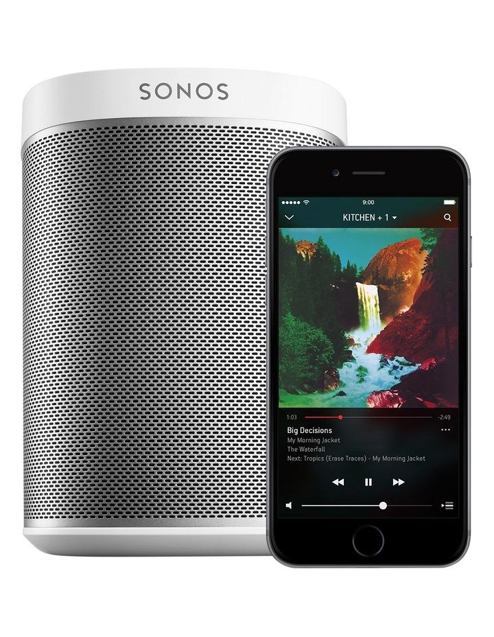 PLAY:1 Wireless Speaker White S-P1W image 2