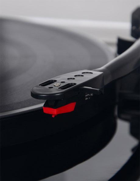 Turntable 3 speed USB Black image 3