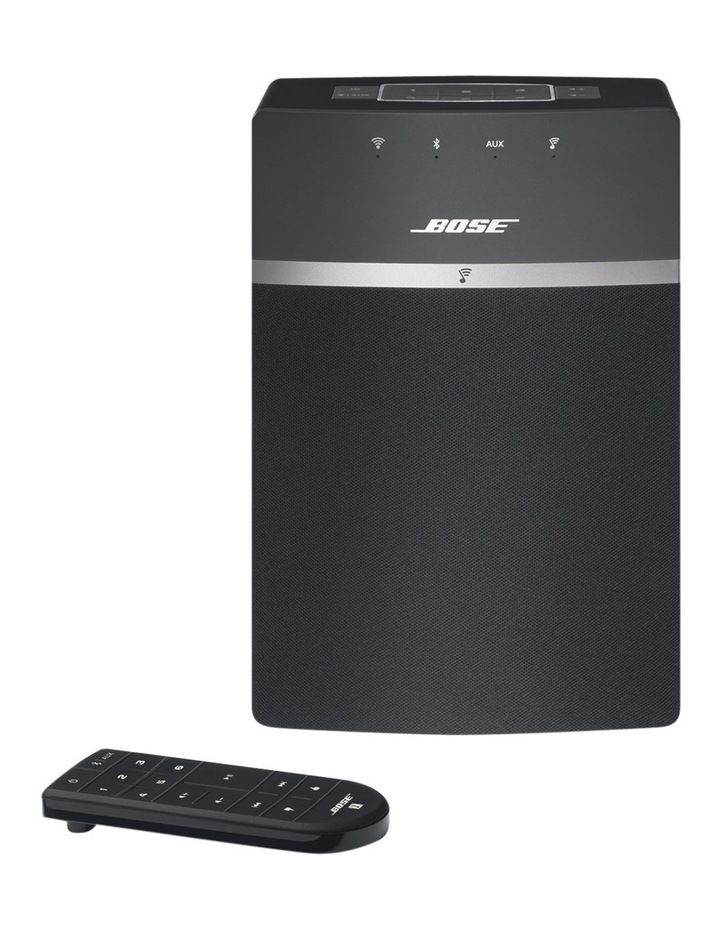 SoundTouch® 10 Wireless Music System Black image 1