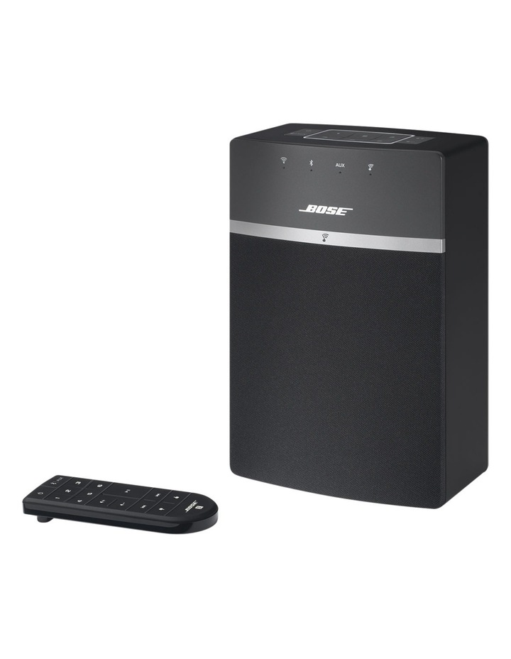 SoundTouch® 10 Wireless Music System Black image 3