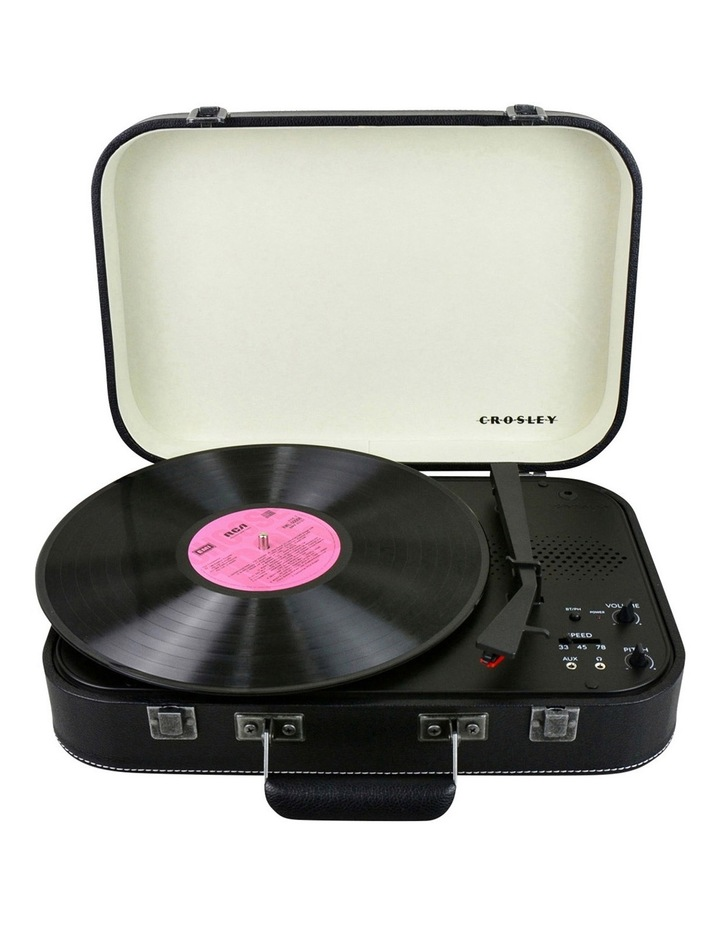Coupe Portable Turntable - Jet Black image 1