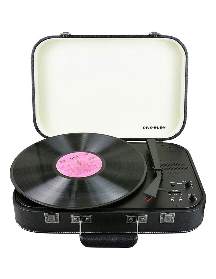 Coupe Portable Turntable - Jet Black image 7