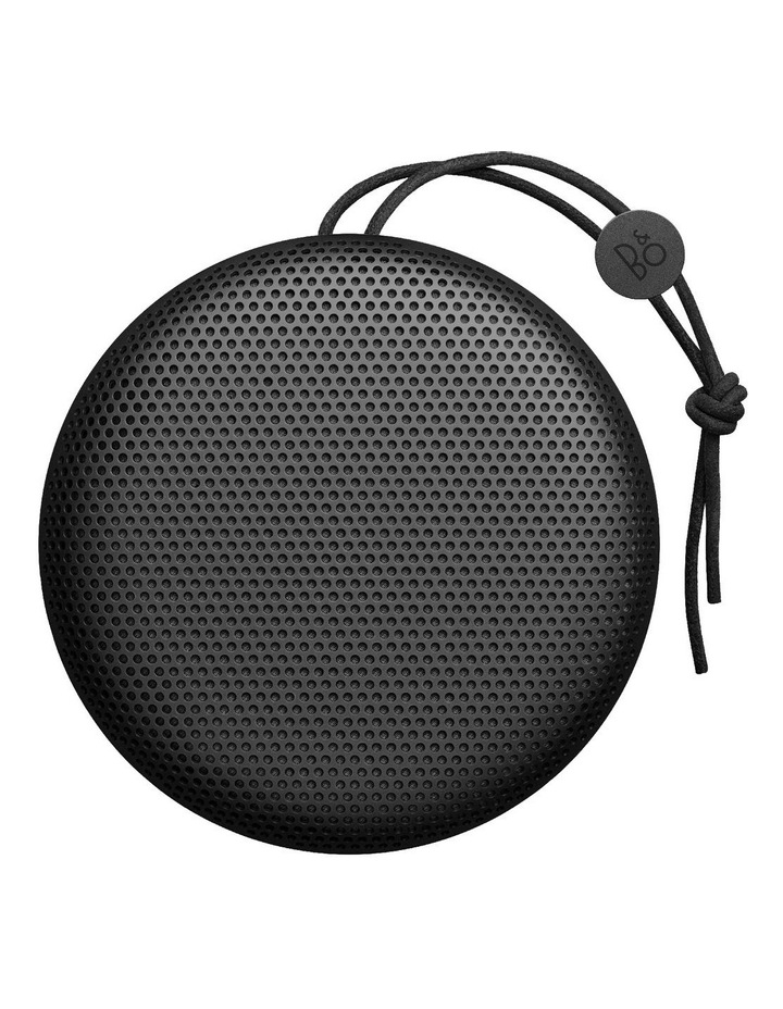 B&O Beoplay A1 Portable Wireless Bluetooth Speaker - Black image 1