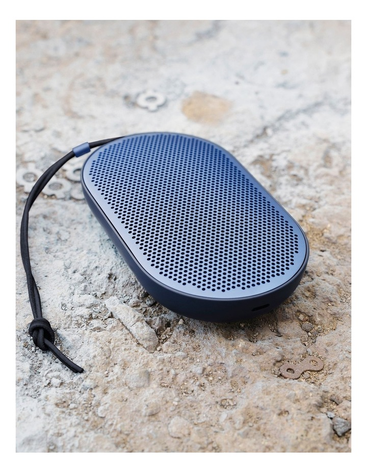 B&O Beoplay P2 Portable Wireless Bluetooth Speaker - Royal Blue image 7