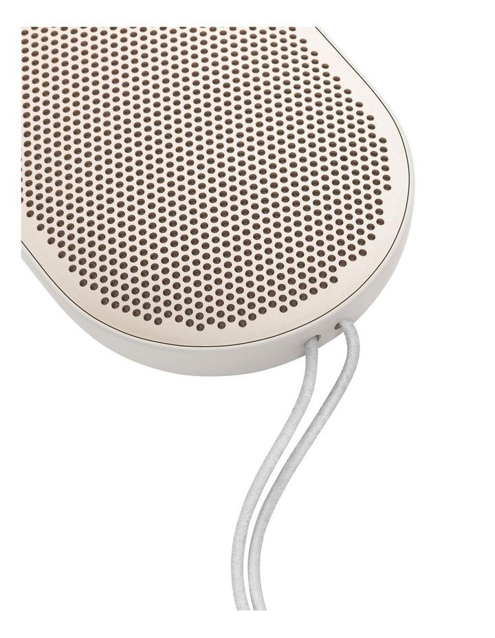 B&O Beoplay P2 Portable Wireless Bluetooth Speaker - Sand Stone image 3