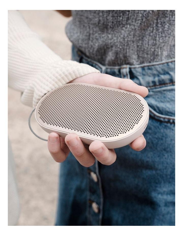 B&O Beoplay P2 Portable Wireless Bluetooth Speaker - Sand Stone image 6
