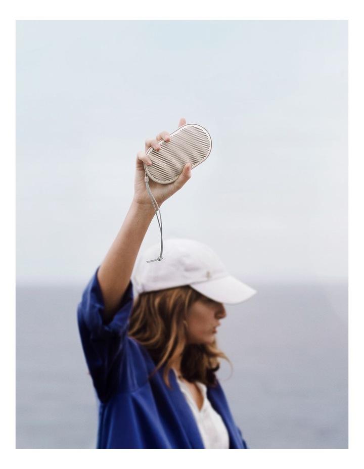 B&O Beoplay P2 Portable Wireless Bluetooth Speaker - Sand Stone image 7