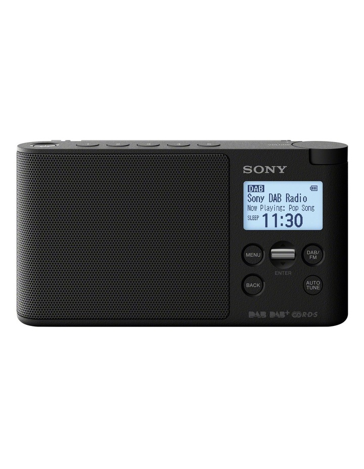 Portable Digital DAB  Radio - Black image 1