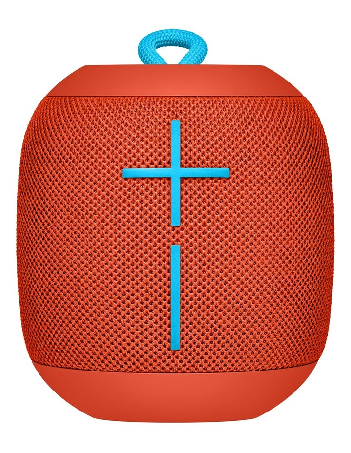 WONDERBOOM Portable Speaker - Fireball Red image 1