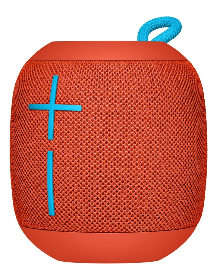 WONDERBOOM Portable Speaker - Fireball Red image 2