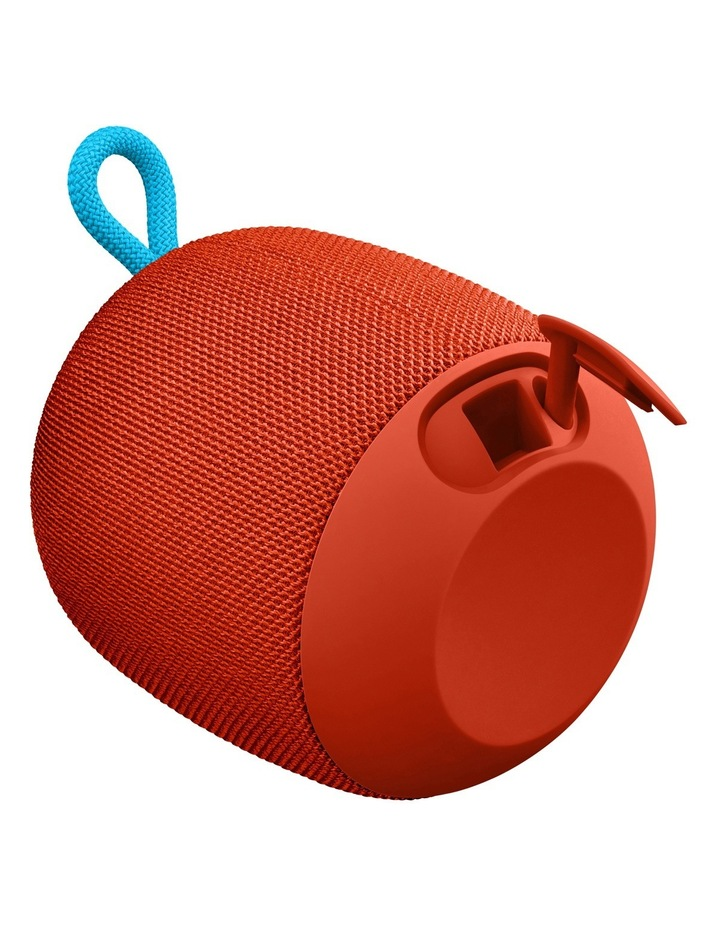WONDERBOOM Portable Speaker - Fireball Red image 4