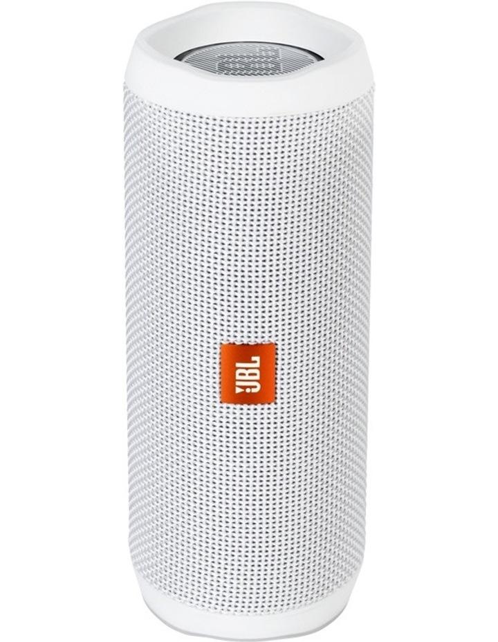Flip 4 Portable Speaker - White image 1