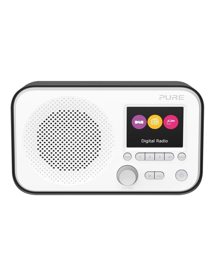 Elan E3 Portable DAB /FM Radio - Black image 1
