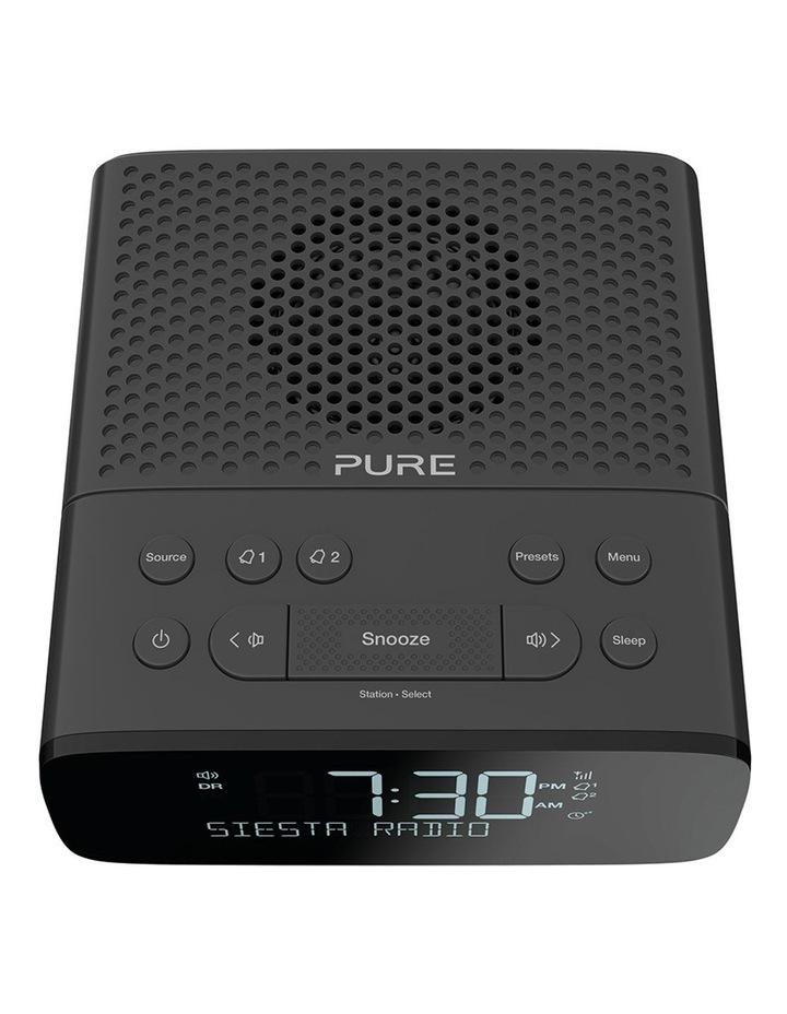 Siesta S2 Digital and FM Alarm Clock Radio with CrystalVue Display - Graphite image 3