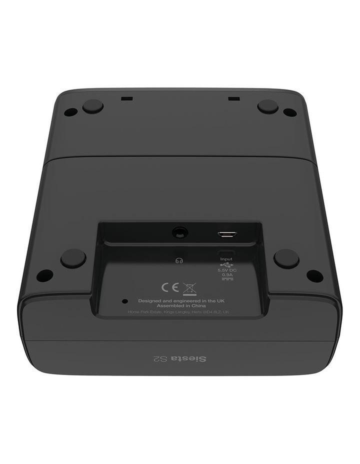 Siesta S2 Digital and FM Alarm Clock Radio with CrystalVue Display - Graphite image 5