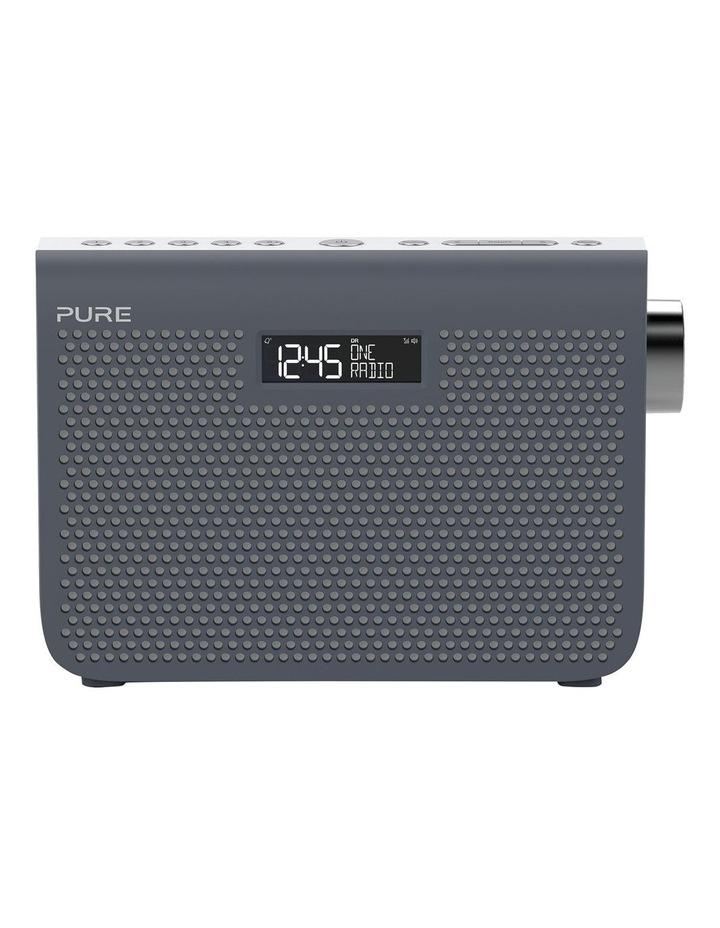 One Midi Series 3s Portable DAB/DAB  and FM Radio - Slate Blue image 1