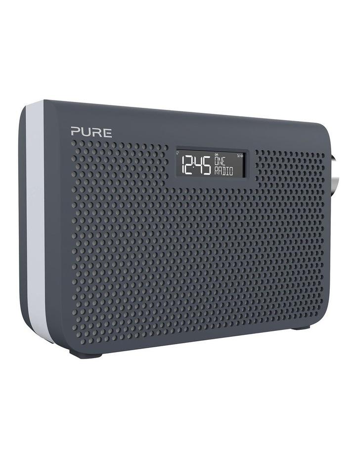 One Midi Series 3s Portable DAB/DAB  and FM Radio - Slate Blue image 2