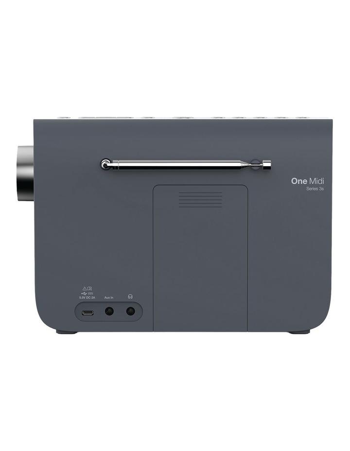 One Midi Series 3s Portable DAB/DAB  and FM Radio - Slate Blue image 4