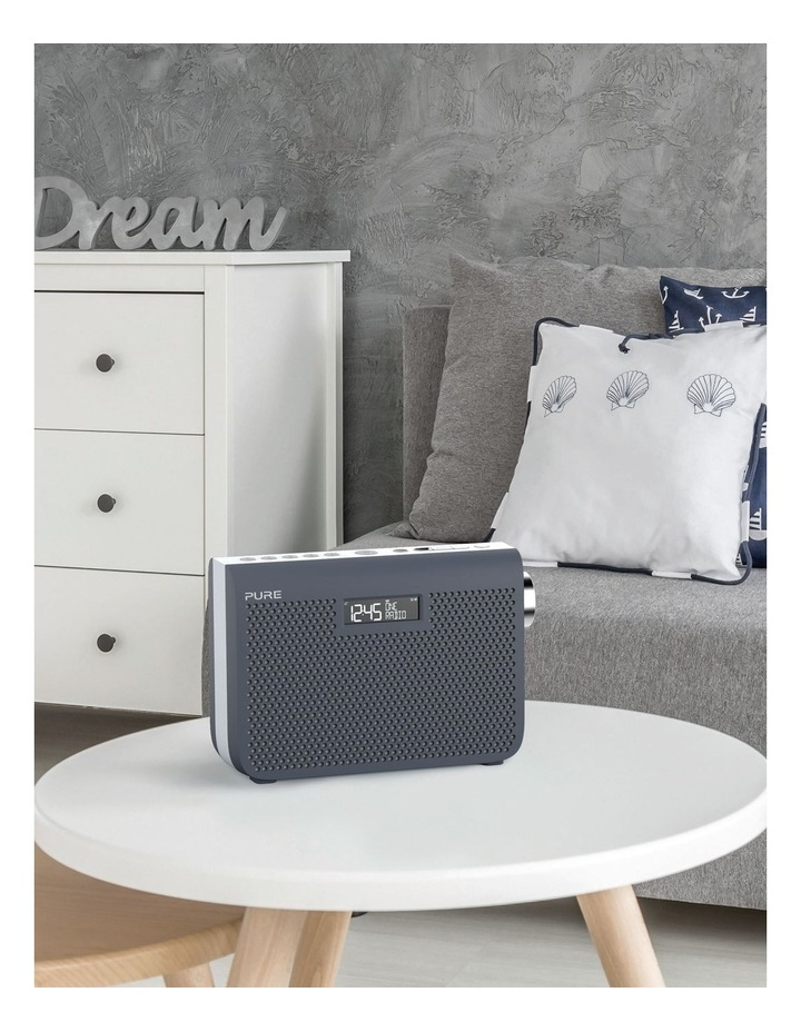 One Midi Series 3s Portable DAB/DAB  and FM Radio - Slate Blue image 5
