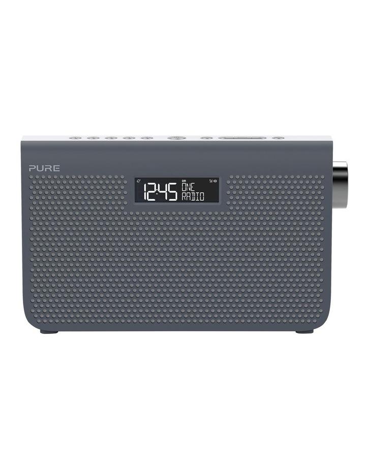 One Maxi Series 3s Stereo Portable DAB/DAB  and FM Radio - Slate Blue image 1
