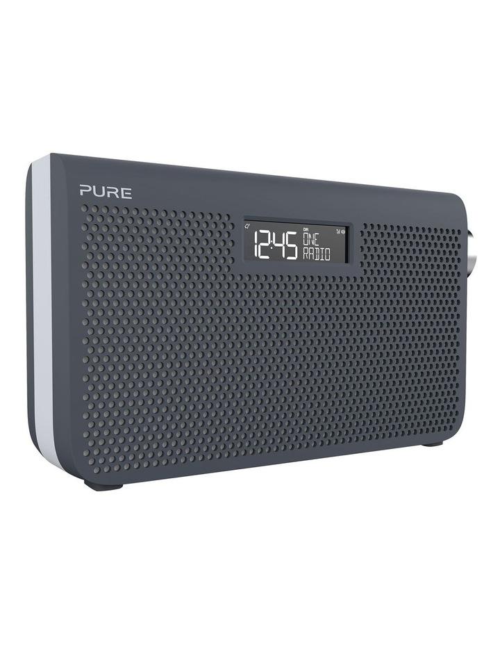 One Maxi Series 3s Stereo Portable DAB/DAB  and FM Radio - Slate Blue image 2