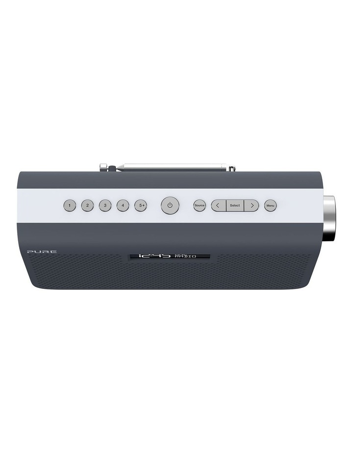One Maxi Series 3s Stereo Portable DAB/DAB  and FM Radio - Slate Blue image 3