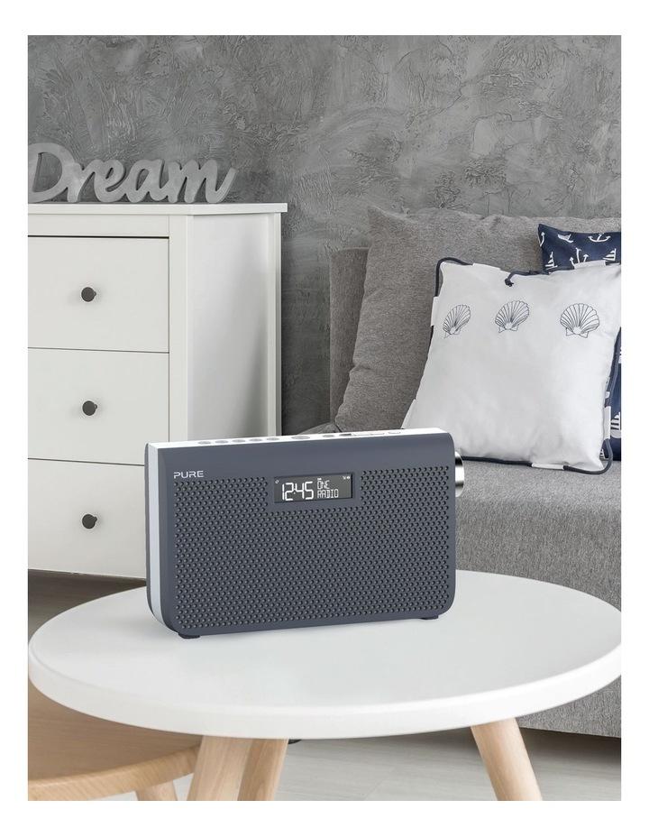 One Maxi Series 3s Stereo Portable DAB/DAB  and FM Radio - Slate Blue image 5