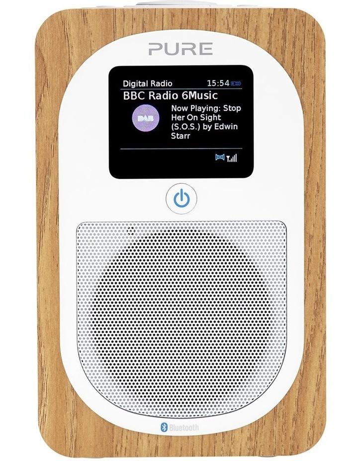 Evoke H3 Portable DAB /FM Bluetooth Radio - Oak image 1