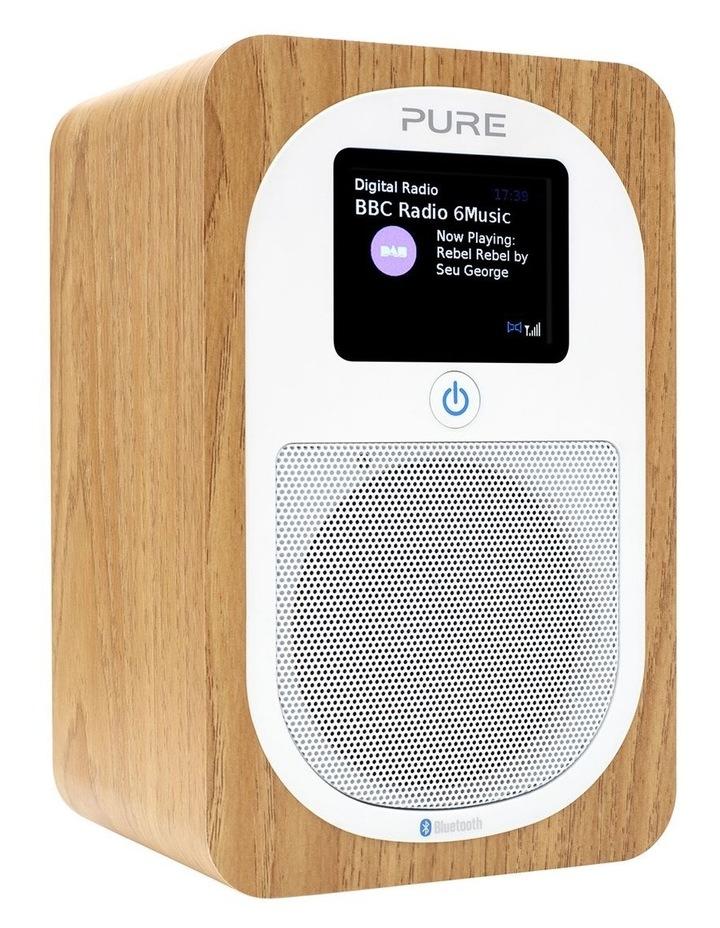 Evoke H3 Portable DAB /FM Bluetooth Radio - Oak image 2