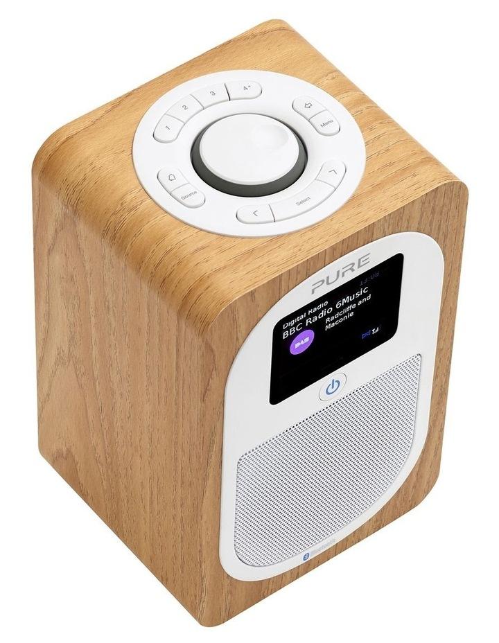 Evoke H3 Portable DAB /FM Bluetooth Radio - Oak image 3